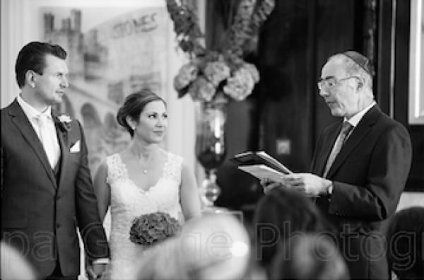 Civil celebrant at mixed-faith wedding