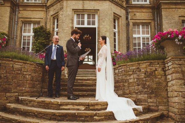 celebrant-led wedding at Hedsor House